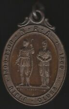 More details for n.r.a. rifle clubs medal 1860 sit perpetuum | pennies2pounds