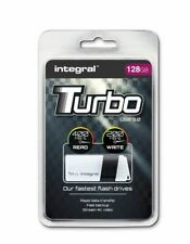 Integral TURBO 128GB USB 3.0 Flash Drive Up To 400MB/s Read / 100MB/s Write.