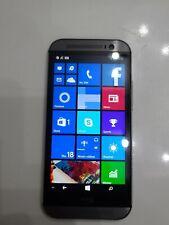 HTC One M8 HTC6995L 32GB Gray (Verizon) Windows Smartphone - Clean IMEI
