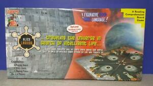 NEW & SEALED Learning Well ALIEN LANDING Reading Comprehension BOARD GAME Red