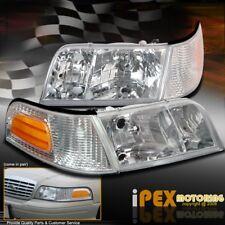 1998-2011 Ford Crown Victoria Police Interceptor/LX Head Light + Corner Signals