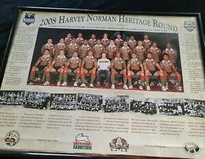 Rabbitohs 2008 Harvey Norman Heritage Round with Jason Taylor was Head Coach