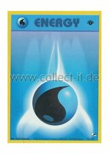 Pokemon Gym Heroes - First Edition 132/132 - Water Energy (Common) Englisch