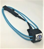 New EFW 6'  Regular  Classic Surfboard/Stand UP Paddleboard Surf Leash - Blue