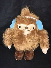 "2010 Vancouver Olympics MASCOT QUATCHI the SASQUATCH 13.5"" Plush Stuffed Animal"