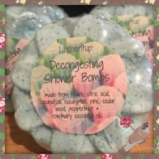 2 X All Natural Congestion Shower Bombs