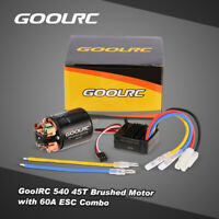 540 45T Brushed Motor with 60A ESC Combo for 1/10 RC Climbing Car P3C8