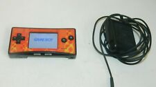 Nintendo Game Boy micro Black Famicom Handheld System W/ Charger