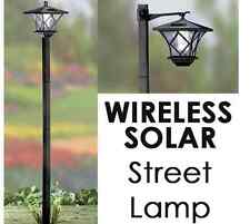 Solar Power Street Lamp Walkway Lights Garden Decor Wireless LED Home Outdoor