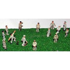 More details for painted cricket game figures (n scale 1/148th) - langley a76p -