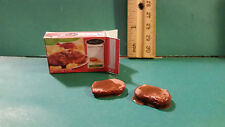 Barbie 1:6 Kitchen Food Miniature Box of Frozen Salisbury Steak and Slices