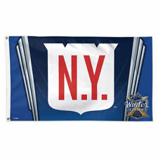 NY Rangers 2018 Winter Classic Game Large Flag