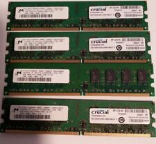 8GB 4 x 2GB Desktop Memory PC2-6400 6400u DDR2 800Mhz 240-Pin TESTED