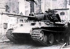 "German Panther Tank in action 5""x 7"" World War II Photo 97"