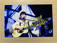 Hand signed Zhou Shen 周深 Autographed Photo Limited ver Chinese Pop