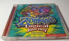 zoombinis logical journey windows and Macintosh 200 math Pc CD Tom win mac