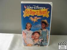 So Dear to My Heart (VHS, 1992) Burl Ives Beulah Bondi Harry Carey