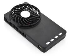 Banco De Emergencia Recargable Mini Ventilador Ultra-delgado portátil de mano verano