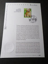 FRANCE 2006 NOTICE FDC timbre 3898, CHIEN CHIOT, 1° JOUR, DOG