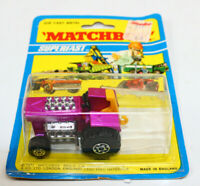 Matchbox Superfast 1971 #25 Mod Tractor Diecast Purple Vintage Car Truck NOS