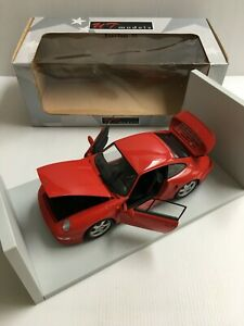 UT Models 27837 Porsche 993 Turbo S Rouge 1/18 Voiture Miniature Collection