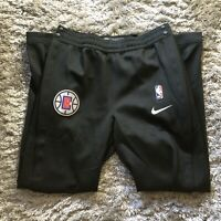 Nike NBA LA Clippers Team Player Issue Therma Fit Showtime Pants SZ XL-Tall