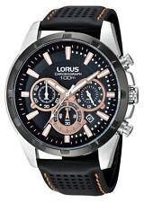 Reloj Cronógrafo Lorus BY Seiko Correa De Cuero RT307BX-9