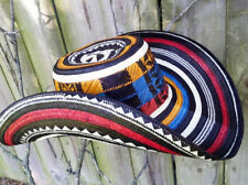 COLOMBIAN HAT~~FINO SOMBRERO VUELTIAO~~COLOMBIA, FLAG COLORS ALL SIZES AVAILABLE