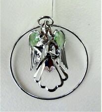 GUARDIAN ANGEL CRYSTAL HANGING ORNAMENT GIFT CRYSTOCRAFT SWAROVSKI SUN CATCHER