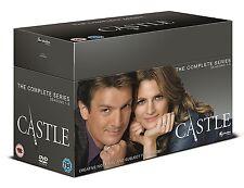 Castle Box Set Seasons 1-8 New Sealed DVD Region 2,4 PAL (Not US)