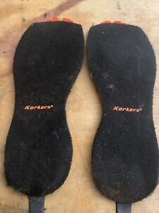 Korkers OmniTrax Sole System  Felt Boot Replacement Soles - Size 14
