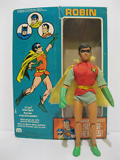 "Very Rare 1976 Mego Canadian Robin 9.5"" Action Figure In Original Box Batman"