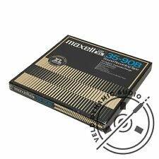 "MAXELL UD-XL 35-90B Reel to Reel Recording Tape Gen. 5 | ¼"" x 7"" / 18cm"