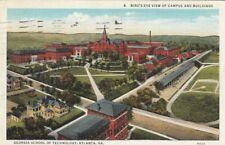 ATLANTA, Georgia, 1937; Bird's Eye View of Campus & Buildings, Georgia School