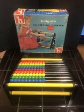 Vintage 1950's Wooden Abacus Holgate Counting Frame Near Mint Abacus with Box!!