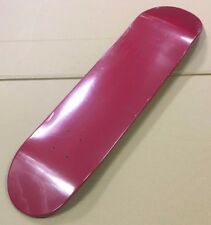 Red SDS Skateboard USA Skateboard BLANK DECK 7PLY CANADIAN Maple 7.625 pollici