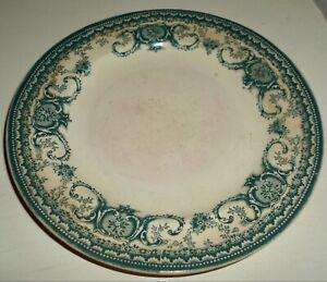 VINTAGE BUFFALO POTTERY DESSERT DISH, BONREA-BLUE