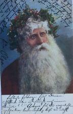 """""""Weihnachten, Weihnachtsmann, Dornenkranz""""1906, Serie M.M. Vienne ♥ (10380)"""