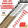 MAIL LITE LITES BUBBLE PADDED ENVELOPES MAILER BAGS ALL SIZES WHITE & GOLD UK