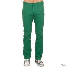 Pantalon homme LEE Chino - Vert - T. W33 L34 US (43 FR) - NEUF