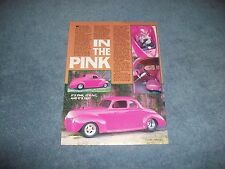 "1940 Ford Coupe Street Rod Article ""In the Pink"""
