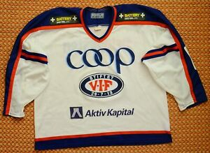 Valerenga, Hockey Jersey by Bauer, Adult XL, Norway, Sewn