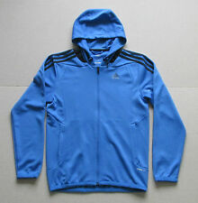 Mens Vintage Adidas Climalite The Rams Hoodie Blue Small Grade A