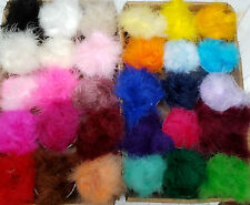 Feather Marabou Swansdown Trimming 42 Colours Plain & Tinsel Cut to order per 1m