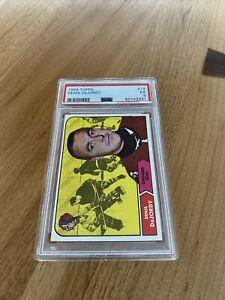 1968 Topps Hockey  # 12 Denis DeJordy  PSA  5
