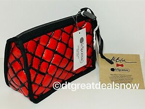 NWT LeSportsac Alber Elbaz Collection Jovie Cosmetic in Hug Me Rouge 2711 G445