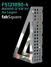 "CertiFlat FS121890-4 FabSquare 12""x18""x4"" - 90 Degree U-Weld Kit - Heavy-Duty"