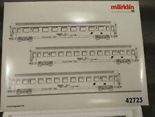 Märklin H0 42723 Personenwagen-Set 3-teilig Schnellzugwagen der ÖBB in OVP