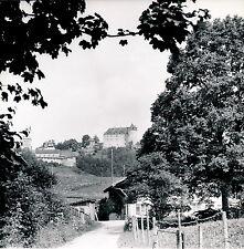 GRUYERE c. 1960 - Vue sur le Château Suisse - DIV 3597