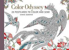 Color Odyssey (Postcard Book): 20 Postcards to Color and Send (Postcard Books),